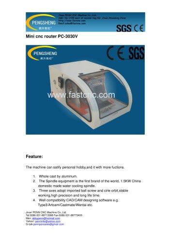 PENN PC-3030V mini cnc router for advertising