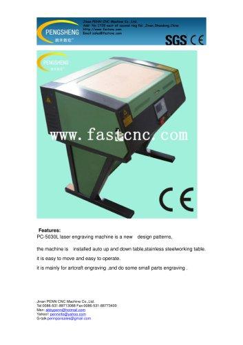 PENN PC-5030L small CO2 laser engraver for hobby