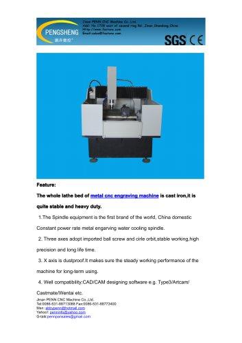 PENN PC-6060M metal mould engraving machine for metal mould