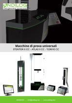 Macchine di prova universali Stentor Atlas T-Drive