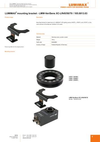 LUMIMAX Mounting Bracket for Baumer VeriSens XC-Serie