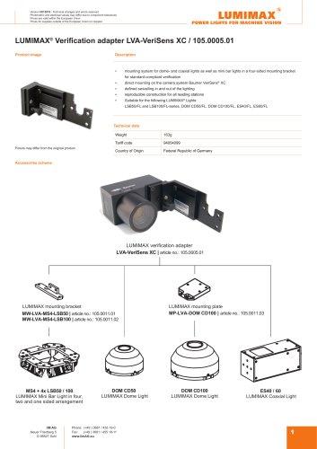 LUMIMAX Verification adapter for VeriSense XC