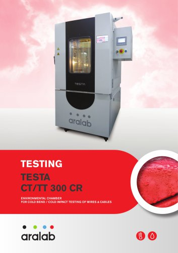 FitoClima 300 CB - Cold bend testing chamber