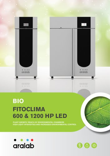 FitoClima 600/1200 HP - Plant Growth Low Temperature chambers