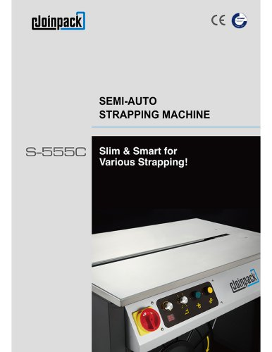 Semi-Auto Strapping Machine