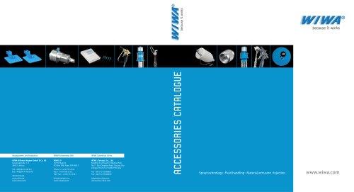 WIWA accessories-catalogue