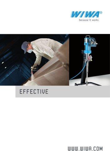 WIWA EFFECTIVE airless spray equipment