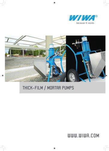 WIWA Motar pump