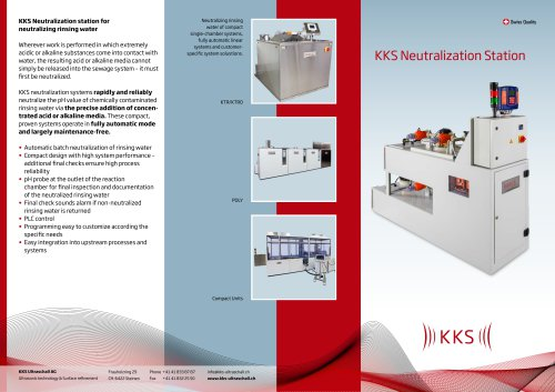 KKS Neutralization Station