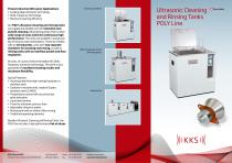 KKS Ultrasonic Cleaning and Rinsing Tanks POLY Line