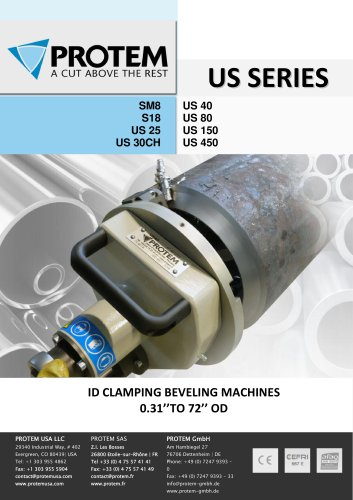 ID CLAMPING BEVELING MACHINES