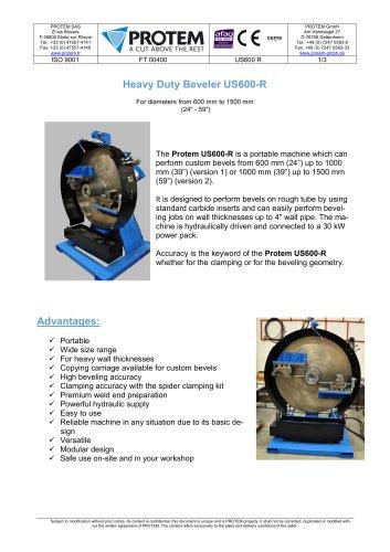 ID Mount Machining Equipment - US600R