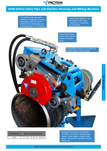 OCM - Orbital cutting & beveling maschine