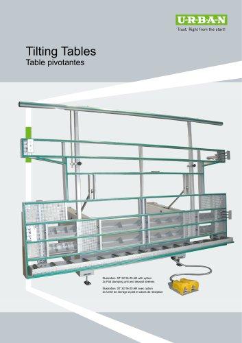 Tiliting Tables