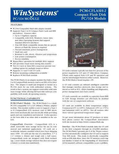 PCM-CFLASH2