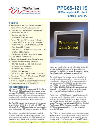 PPC65-1211S-DS