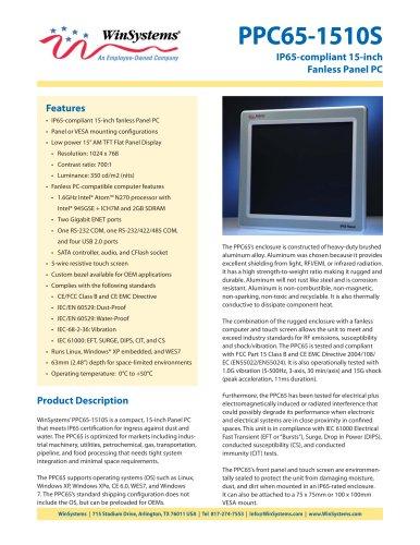 PPC65-1510S-DS