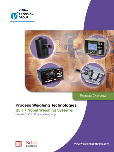 Industrial Process weighing