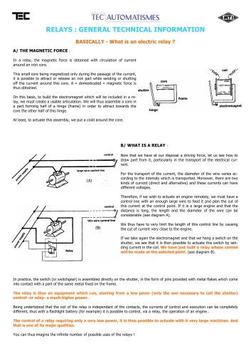 General technical information