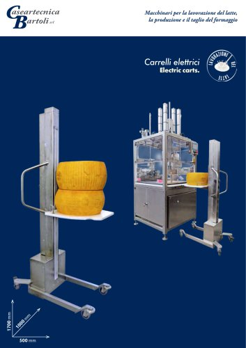 MOBILE CHEESE LIFTER