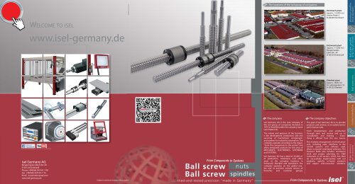 Ball Screw Nuts and Spindles