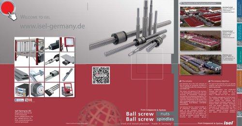 ball screw spindlrs