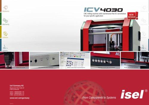 """CNC Desk Top Machine """"ICV 4030"""""""