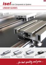 "Partial catalogue ""Linear Guides"""
