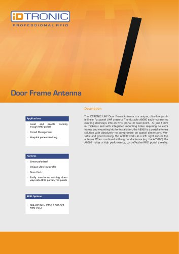 RFID Antennas | Door Frame Antenna