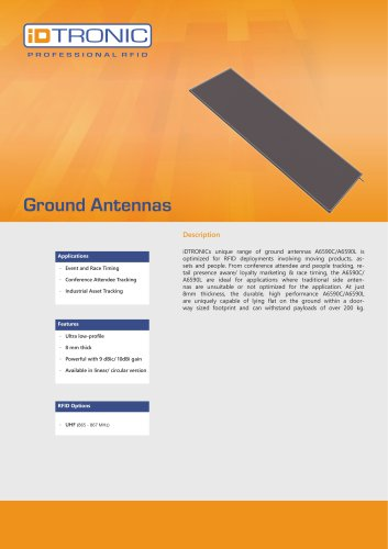 RFID Antennas | Ground Antenna
