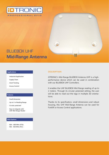 RFID Antennas | MR Antenna