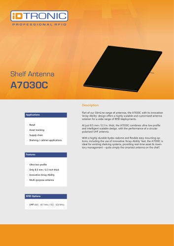 RFID Antennas | Shelf Antenna