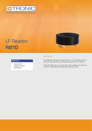 RFID Embedded Modules | LF Reader R810