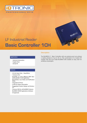 RFID Industrial Readers | BLUEBOX Basic Controller 1CH