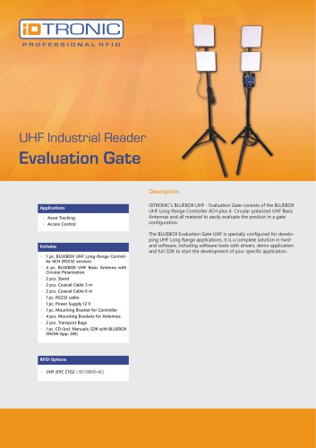 RFID Industrial Readers | Evaluation Gate