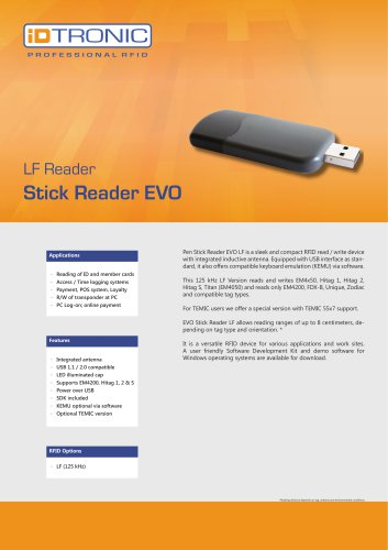 RFID Readers | Stick Reader EVO LF