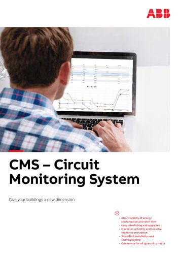 CMS-700 Circuit monitoring system - Give your building a new dimension