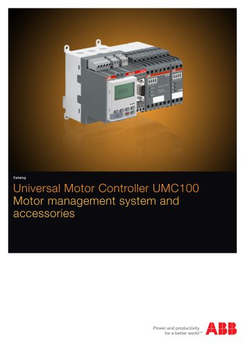 Universal Motor Controller UMC100 Motor management system and  accessories