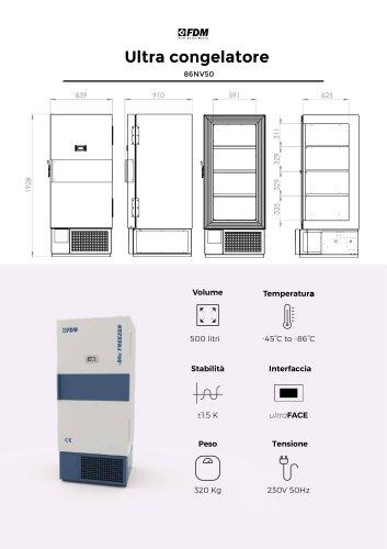 86NV50 - Ultra Congelatore (500L)
