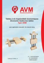Economical manual table Type 309B
