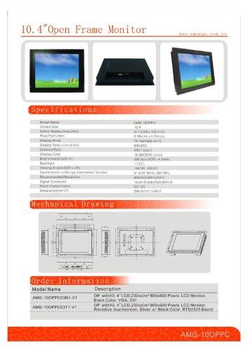 Amongo 10.4 OPPC open frame monitors