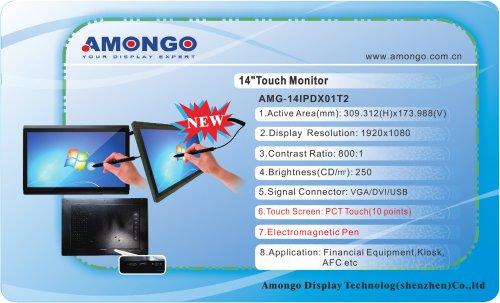 "Amongo  14"" NEW 1920x1080 pixels (Electromagnetic pen) AMG-14IPDX01T2"