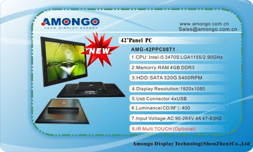 Amongo 42' ALL IN ONE (Panel PC) /42PPC08T1