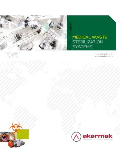 Medical waste sterilization system