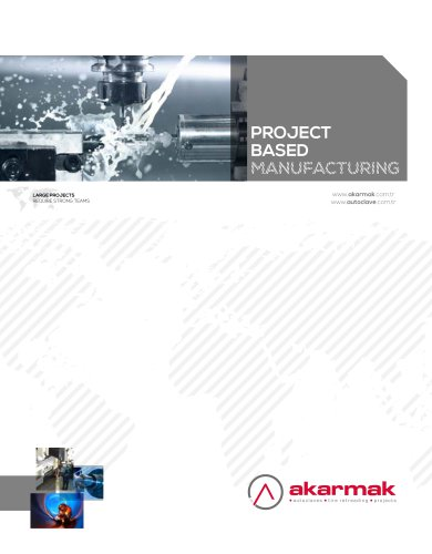 Project based manufacturing