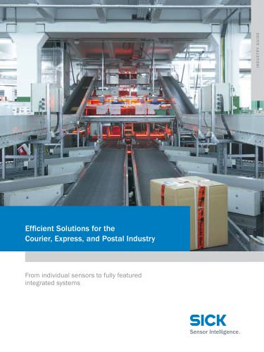 Efficient Solutions for the Courier, Express, and Postal Industry