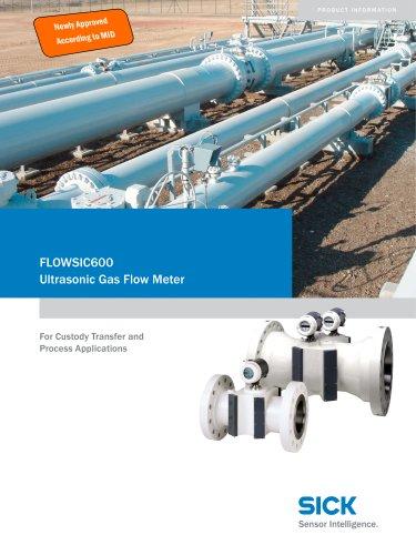 FLOWSIC 600