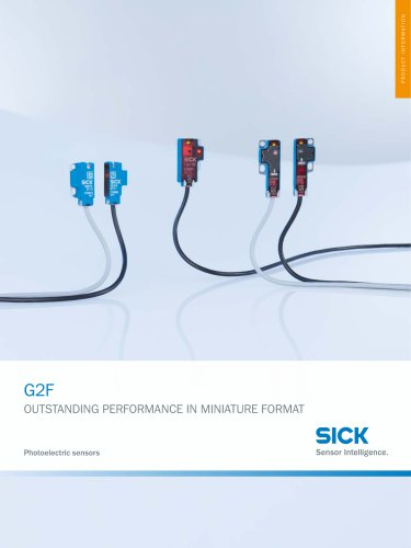 G2F Photoelectric sensors