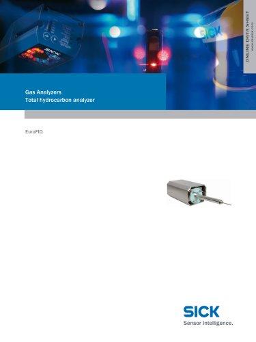 Gas Analyzers Total hydrocarbon analyzer