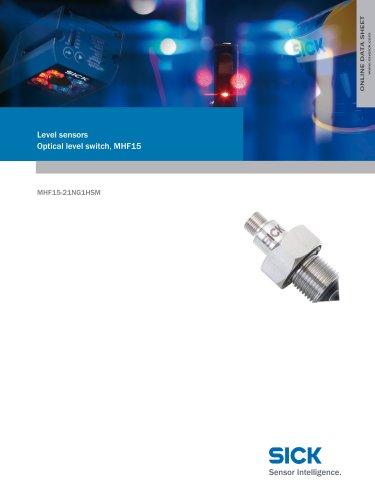 Level sensors Optical level switch, MHF15